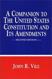 A companion to the United States Constitution and its amendments PDF