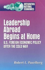 Leadership abroad begins at home PDF
