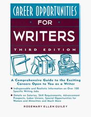 Career opportunities for writers PDF