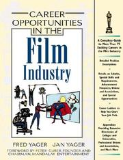 Career opportunities in the film industry by Fred Yager