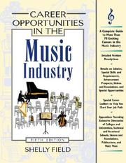 Career opportunities in the music industry by Shelly Field