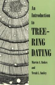 An introduction to tree-ring dating by Marvin A. Stokes