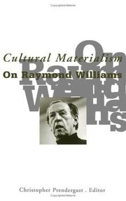 Cultural Materialism on Raymond Williams (Cultural Politics) PDF