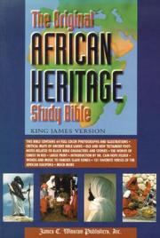 The Original African Heritage Study Bible by Cain Hope Felder
