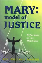 Mary, model of justice by William Maestri