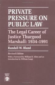 Private pressure on public law PDF