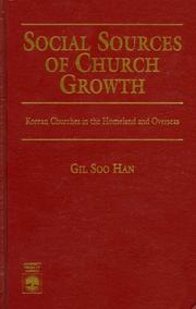 Social sources of church growth PDF