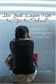 """It's just easier not to go to school"" by Lori Olafson"