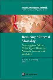 Reducing Maternal Mortality PDF