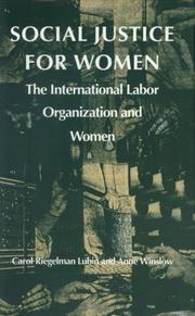 Social justice for women by Carol Riegelman Lubin