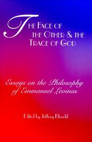 The Face of the Other and the Trace of God PDF