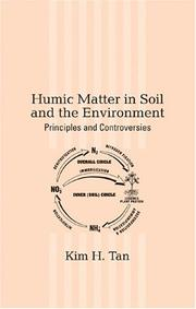 Humic matter in soil and the environment PDF