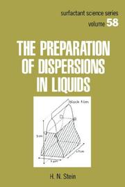 The preparation of dispersions in liquids PDF