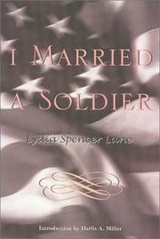 I married a soldier by Lydia Spencer Lane
