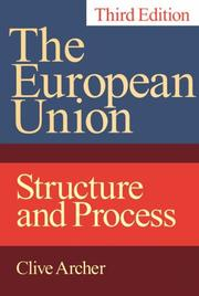 The European Union by Clive Archer