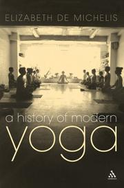 History of Modern Yoga by Elizabeth De Michelis