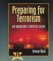 Preparing for terrorism by George Buck