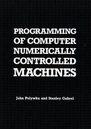 Programming of computer numerically controlled machines PDF