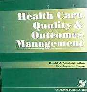 Health Care Quality & Outcomes Management PDF