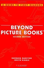 Beyond picture books by Barbara Barstow
