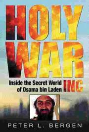 Holy War, Inc, The by Peter Bergen