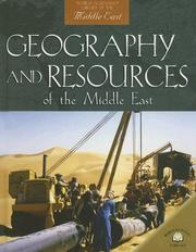 Geography And Resources of the Middle East (World Almanac Library of the Middle East) PDF