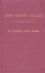 John Foster Dulles by Richard Goold-Adams