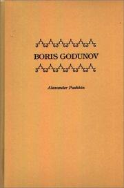 Boris Godunov by Aleksandr Sergeyevich Pushkin