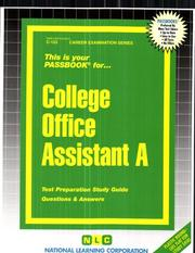 College Office Assistant A PDF