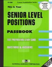 Senior Level Positions PDF