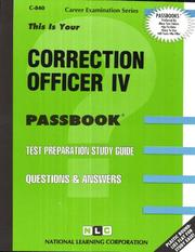 Correction Officer IV PDF