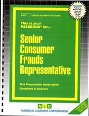 Senior Consumer Frauds Representative PDF