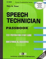 Speech Technician PDF