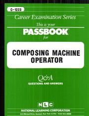 Composing Machine Operator PDF