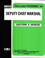 Deputy Chief Marshal PDF