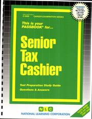 Senior Tax Cashier PDF