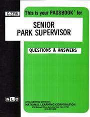Senior Park Supervisor PDF