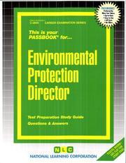 Environmental Protection Directory (Career Examinations Series : C-2849)