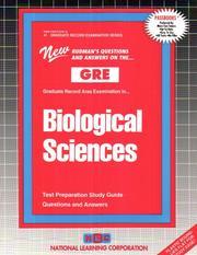 GRE Biological Sciences (Graduate Record Examination Series) (Graduate Record Examination Series, Gre-41)