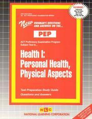 Health I PDF