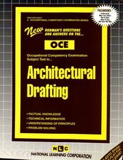 Architectural Drafting (Occupational Competency Examination Series (Oce).) PDF