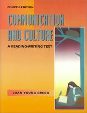 Communication and culture by Joan Young Gregg