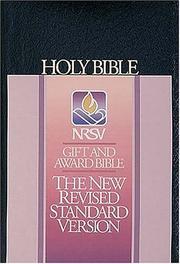 Gift and Award Bible (Bible Nrsv)