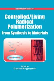 Controlled/Living Radical Polymerization PDF