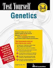 Test Yourself Genetics (Test Yourself) PDF