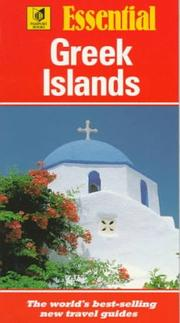 Essential Greek Islands by Arthur Eperon