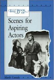 The book of scenes for aspiring actors PDF
