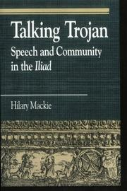 Talking Trojan by Hilary Susan Mackie