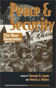 Peace and Security PDF