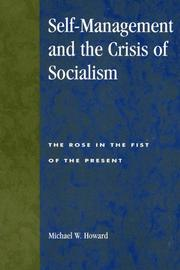 Self-Management and the Crisis of Socialism PDF